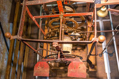 Toestel reuzeklok, klok, Chioggia, Italië, augustus 2016 Royalty-vrije Stock Afbeelding