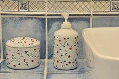 Toestel in toilet Royalty-vrije Stock Fotografie