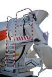 Toestellen en samenstellende delen van een de bouw concrete mixer Stock Foto