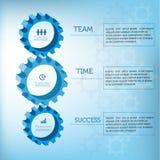 Toestellen infographic ontwerp Stock Fotografie