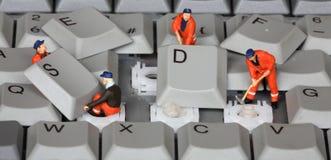 Toetsenbord 3 Royalty-vrije Stock Afbeeldingen