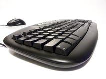 toetsenbord en muis Stock Afbeelding