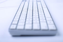 Toetsenbord van computer Stock Afbeelding