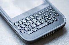 Toetsenbord van de Qwerty het mobiele telefoon stock foto