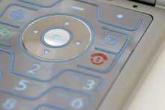 Toetsenbord van een mobiele telefoon 02 stock foto