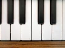 Toetsenbord van piano Royalty-vrije Stock Afbeeldingen