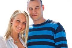 Toevallig jong paar. royalty-vrije stock foto