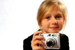 Toevallig meisje Stock Foto