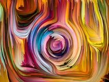 Toevallige Gesmolten Kleuren vector illustratie