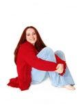 Toevallige Jonge Vrouw Royalty-vrije Stock Fotografie