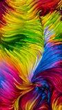 Toevallige Kleurrijke Verf vector illustratie