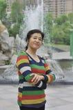 Toevallige rijpe vrouw Royalty-vrije Stock Foto's