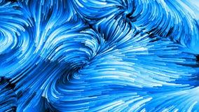 Toevallige Vloeibare Kleur stock illustratie