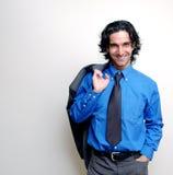 Toevallige zakenman-2 stock fotografie