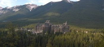 Toevlucht in Banff, Alberta, Canada royalty-vrije stock foto's