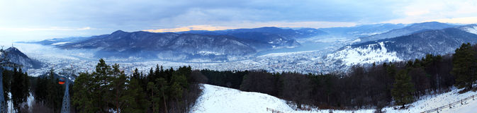 Toevlucht in de Karpatische Bergen, Roemenië Royalty-vrije Stock Foto