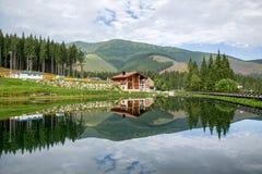 Toevlucht Jasna in Lage Tatras-bergen, Slowakije Stock Foto's