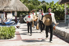 Toevluchthotel in Mexico royalty-vrije stock afbeelding
