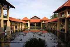 Toevluchthotel in Vietnam Royalty-vrije Stock Afbeeldingen