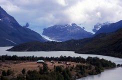 Toevluchtsoord in de bergen Royalty-vrije Stock Foto