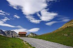 Toevluchtsoord in de Pyreneeën Royalty-vrije Stock Foto
