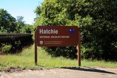 Toevluchtsoord van het Hatchie het Nationale Wild, Haywood, Tennessee stock foto's