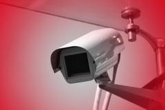 Toezicht, veiligheidscamera, controle, kabeltelevisie Royalty-vrije Stock Fotografie