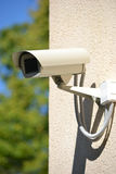Toezicht, veiligheidscamera, controle, kabeltelevisie Royalty-vrije Stock Foto's