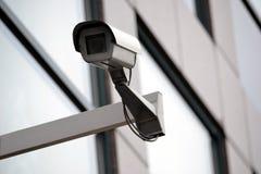Toezicht, veiligheidscamera, controle, kabeltelevisie Stock Foto