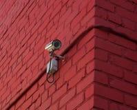 Toezichtvideocamera Stock Afbeeldingen