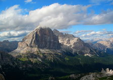 Tofana di Rozes, Dolomit Royalty Free Stock Image