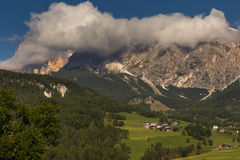 Tofana massive from Cortina Stock Photo