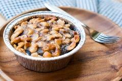 Toffee ξύλων καρυδιάς κέικ Στοκ φωτογραφίες με δικαίωμα ελεύθερης χρήσης