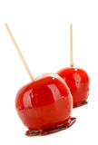 Toffee apple Royalty Free Stock Photos