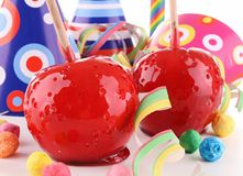 Toffee apple Royalty Free Stock Photography