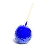 Toffee apple blue Royalty Free Stock Photos