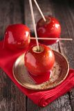 Toffee apple Stock Photography