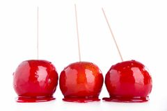 Toffee apple Royalty Free Stock Photo