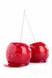 Toffee apple Royalty Free Stock Images