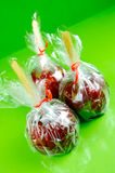 Toffee Apples Royalty Free Stock Photography