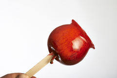 Toffee apples Stock Images