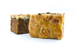 Toffee cake Stock Photography