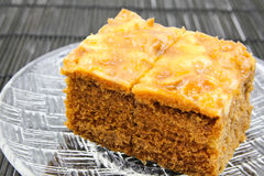Toffee Cake Royalty Free Stock Images