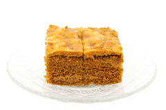 Toffee cake Royalty Free Stock Photography
