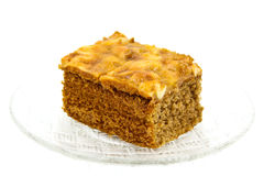 Toffee cake Royalty Free Stock Photo