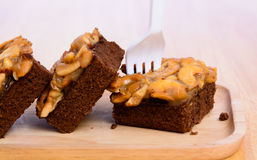 Toffee cake Stock Images
