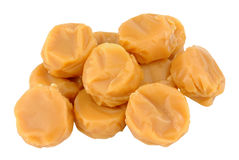 Toffee Caramel Candy Stock Photography