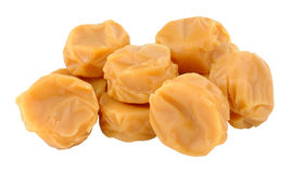 Toffee Caramel Candy Stock Image