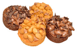 Toffee And Chocolate Cupcakes Stock Photo