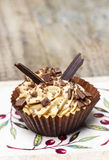 Toffee cupcakes Royalty Free Stock Photography